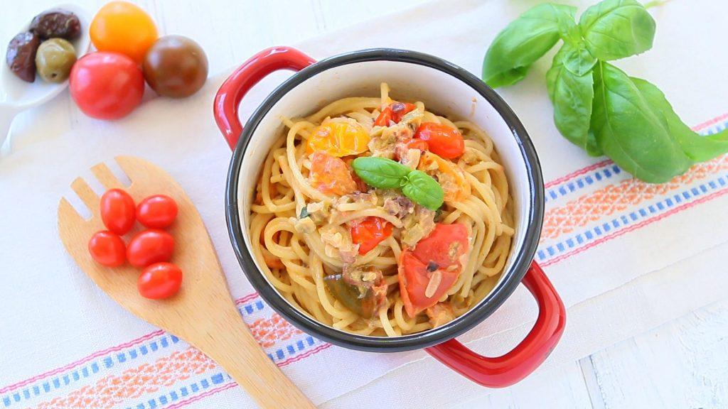 pasta tomato caprino2