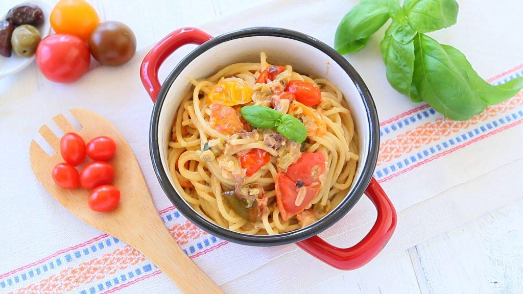 pasta tomato caprino4