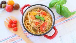 Juicy Pasta with Homemade Ragu