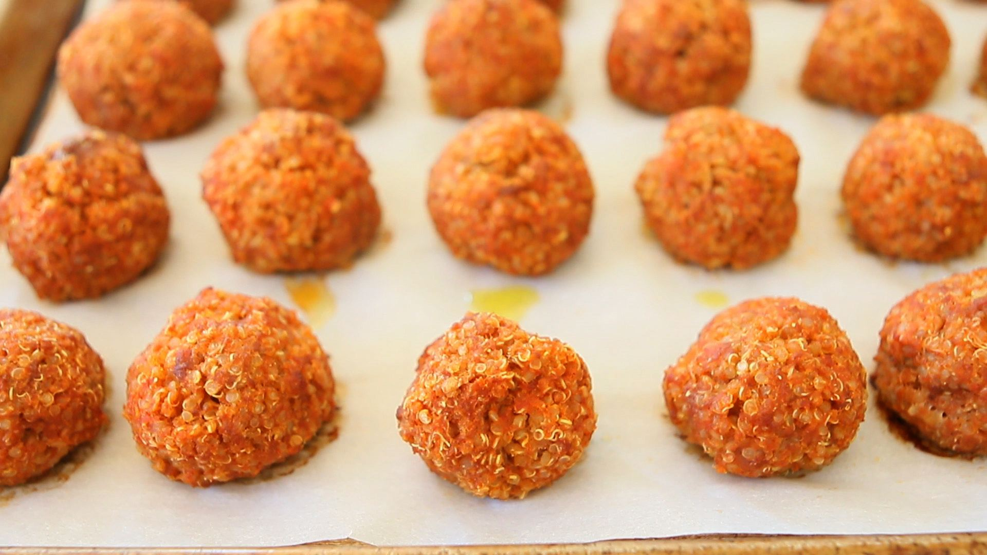 Quinoa beef meatballs baby finger food buona pappa forumfinder Choice Image