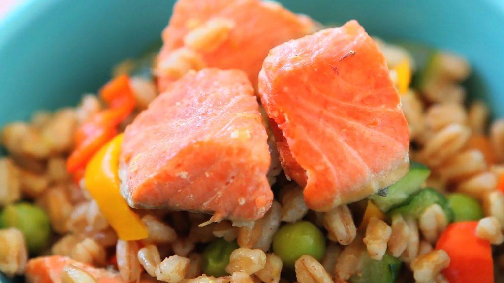 Farro Salmon Salad12