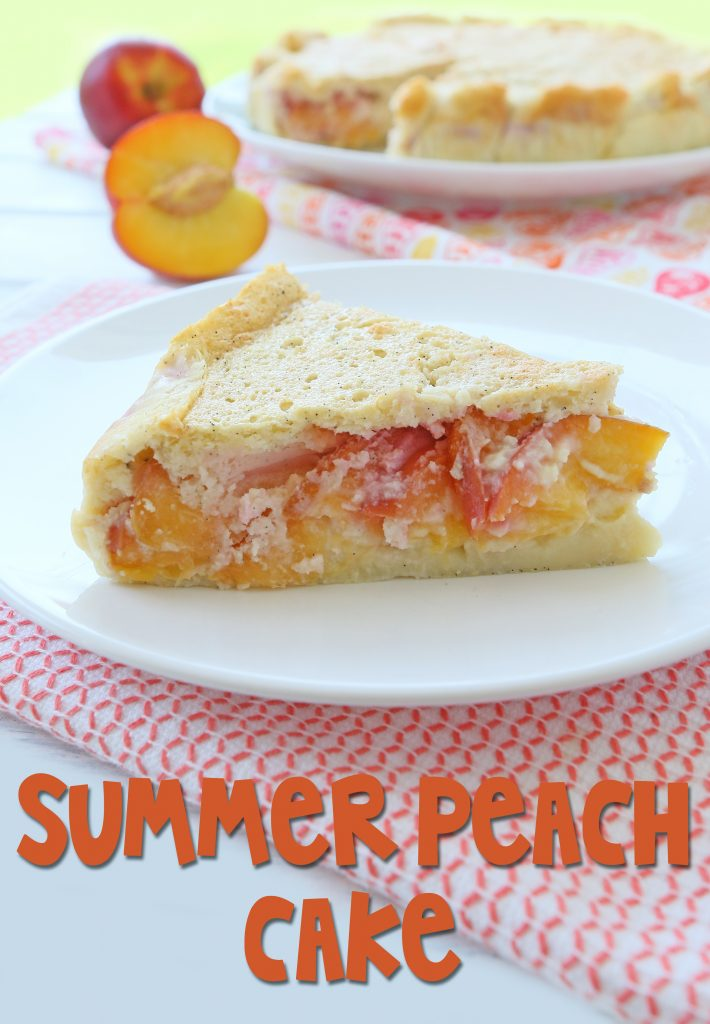 summer peach cake long