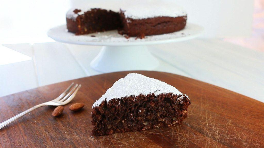 torta ciocco mandorle