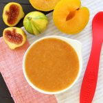 Superfood Fruit baby puree : fig & pluot