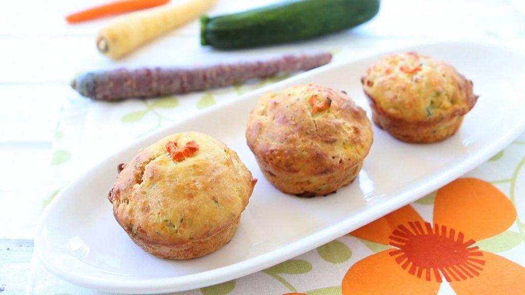 zucchini-ham-muffins