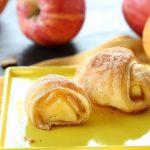 Sfogliatine di mele con cannella e noci