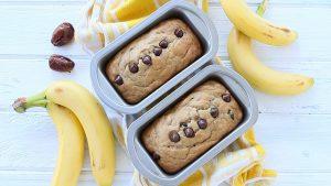 No Sugar + Dairy Free Banana Bread recipe - baby friendly
