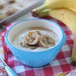 Banane caramellate con yogurt