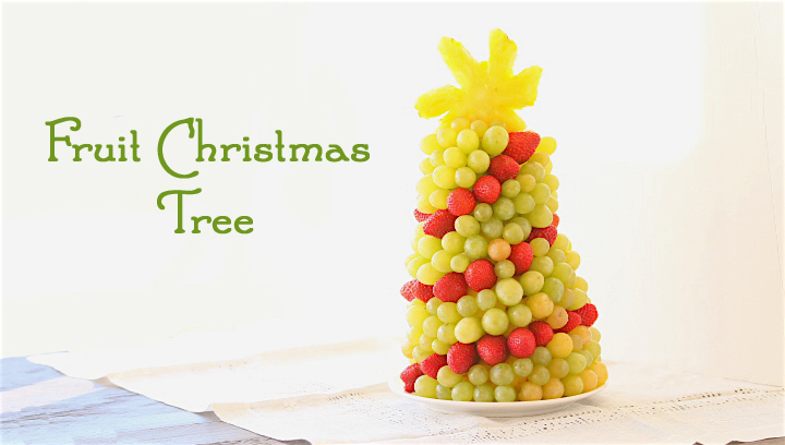 A refreshing dessert idea for the Christmas table, super fun to prepare with your kids!!