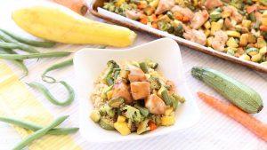 Baked Teriyaki Chicken with Vegetables