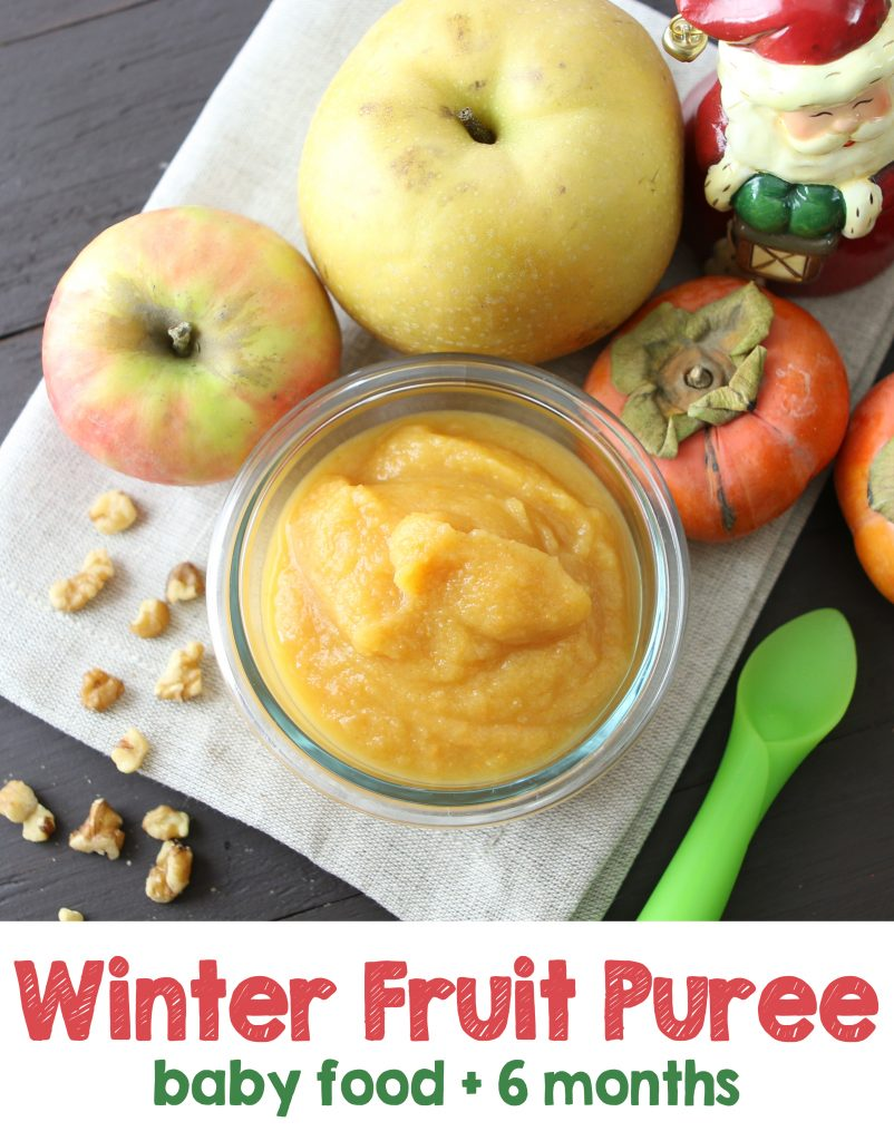 Baby Food Fruit Puree Recipes