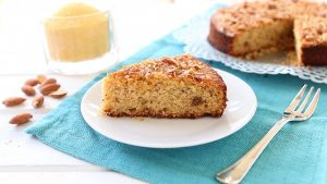 Polenta and Almond Cake - gluten free