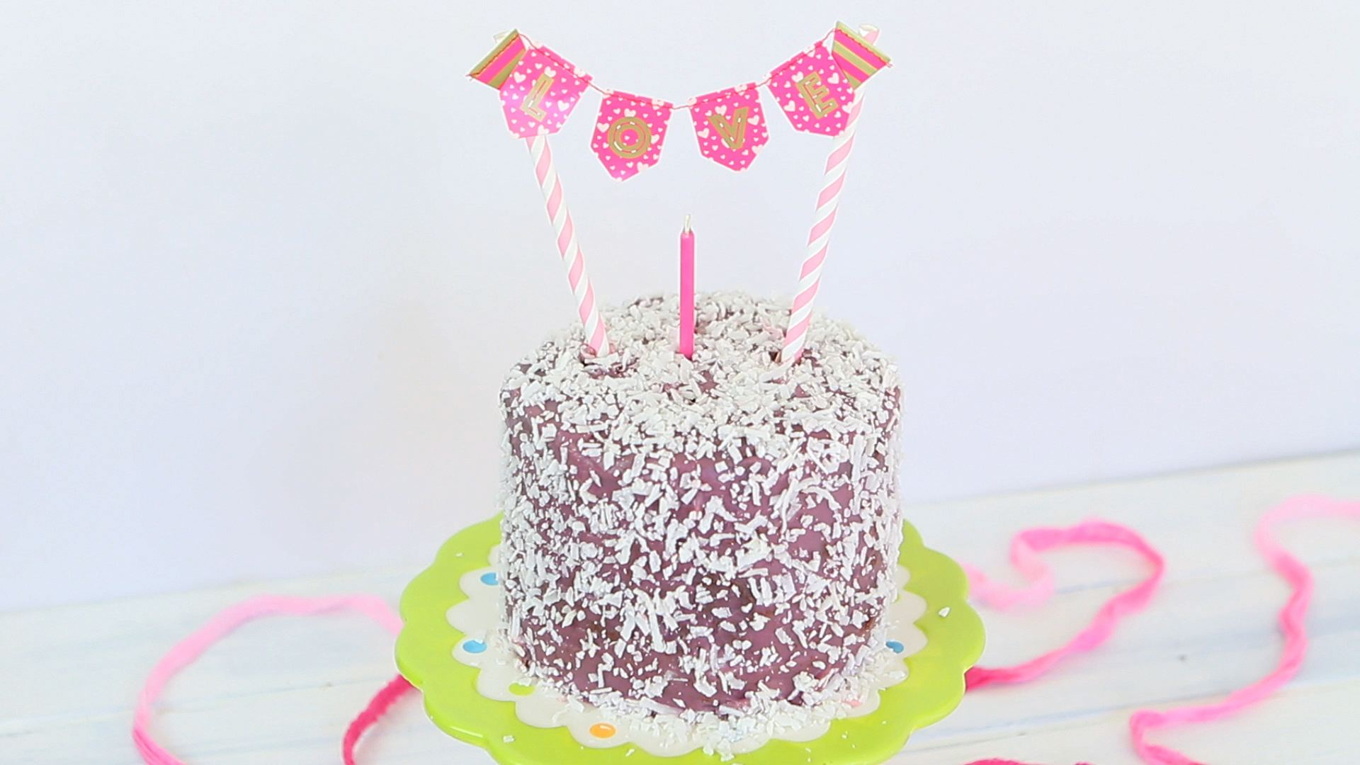 Baby Chocolate Purple Cake Buona Pappa