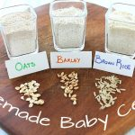How to make Homemade Baby Cereal