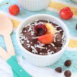 Mug Cake alle Ciliegie e Cioccolato