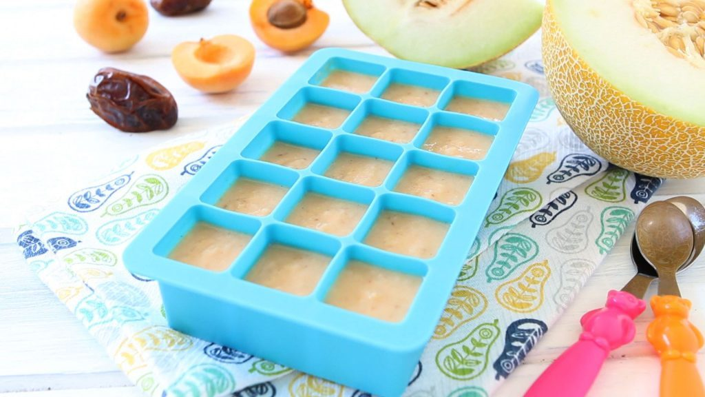 Melon Apricot Dates Baby Puree 6m Buona Pappa When can babies eat cantaloupe? melon apricot dates baby puree 6m