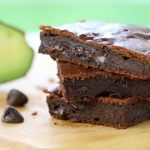 Brownies al cioccolato con avocado