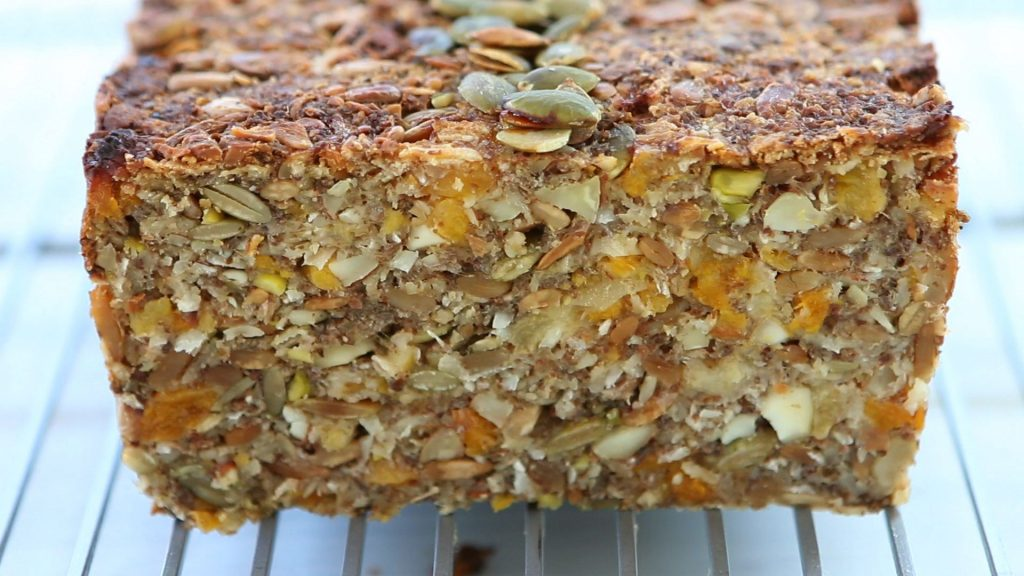 Nuts and Seeds Sweet Bread – family recipe