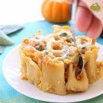 Pasta Verticale con Zucca e Gorgonzola
