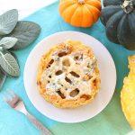 Pumpkin Gorgonzola Bake Pasta