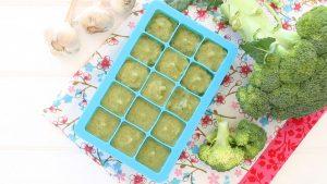 Broccoli and Garlic puree +9M