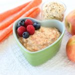 Carrot Apple Oatmeal +6M