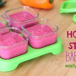 How and where to store baby food