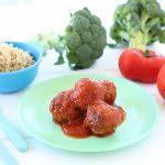 Quinoa Broccoli Meatballs EggFree / Dairy Free / Gluten Free +9M