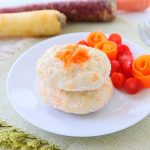 Carrot Coconut Chicken Burgers