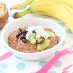 Cocoa Banana Cauliflower Porridge – Toddler breakfast