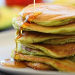 Banana Avocado Almond Pancakes – 6M Vegan