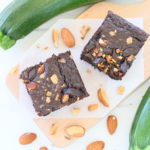 Zucchini Brownies – plant based, flourless, dairy free +12M
