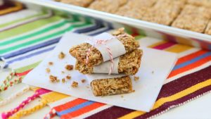 Oat Granola Bars - Gluten, Nut, Dairy Free +12M