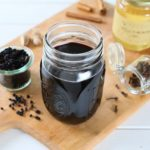 Homemade Elderberry Syrup – cold and cough remedy
