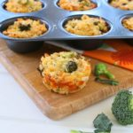 Boccoli Muffins with Brown Rice – Gluten Free +9M