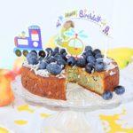 Zucchini Vanilla Birthday Cake