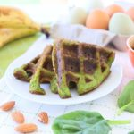 Spinach Almond Waffles – Gluten and Grain Free +6M