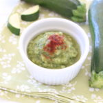 Roasted Zucchini with Paprika Baby Puree' +4M