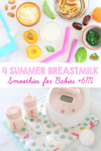 Breastmilk Smoothies +6M