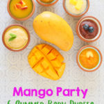 Mango Baby Puree Party +6M