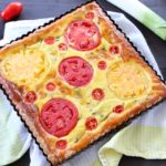 Tomato Mushroom Quiche with Gluten Free Paleo Crust +12M