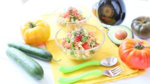 Millet Tomato Avocado Chia Salad +8M