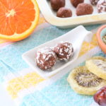 Quinoa Almond Orange Cocoa Balls +6M