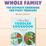 The Fuss-Free Toddler Cookbook Announcement
