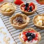 Baked Oatmeal Cups with Fruit +9M Vegan and GF