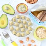 Sardines Avocado Almond Baby Balls +6M GF No Bake