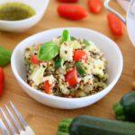 Quinoa Zucchini Chickpea Gluten Free Salad +9M