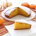 Happy Sunshine Pumpkin & Carrot Cake, low sugar