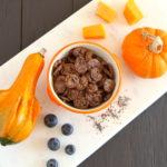 Butternut Squash Blueberry Baby Puffs – egg free & gluten free +6M