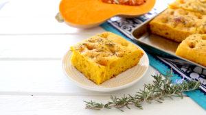 Butternut Squash, Turmeric & Rosemary Focaccia Bread +9M Sooo good!